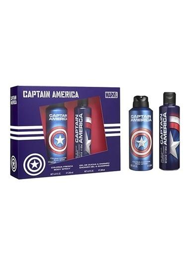 Benev Captain America Body Spray 200 Ml + Shower Gel 200 ml Renksiz